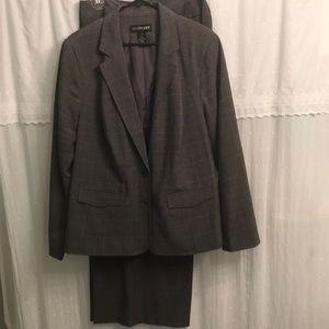 Lane Bryant Plaid Business Suit